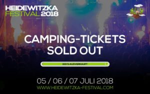CAMPING TICKETS SOLD OUT