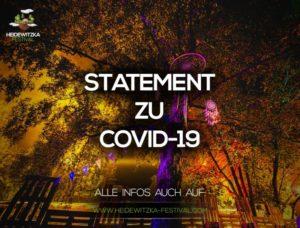 STATEMENT ZU COVID-19